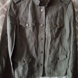 Relativity Army Green Utility Jacket